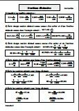 Fractions décimales - correction