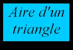 Aire d'un rectangle et d'un carré