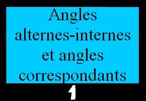 Angles alternes-internes et correspondants (clique sur les bons angles)