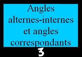 Propriétés sur les angles et droites parallèles