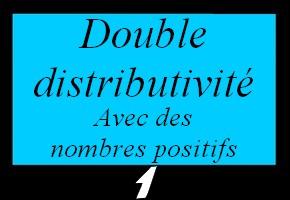 Développer en utilisant la double distributivité