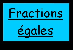 Fractions �gales