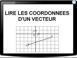Lire les coordonnées d'un vecteur