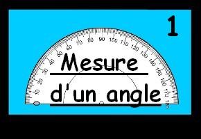 Mesure d'un angle 1