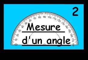 Mesure d'un angle 2