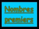 Nombres premiers