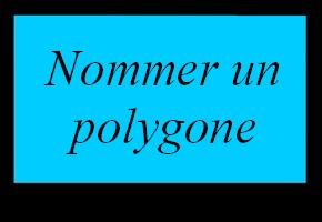 Nommer un polygone