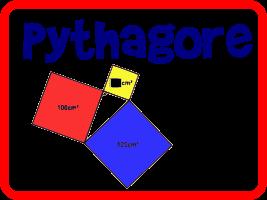 Calculer l'aire d'un carré avec le théorème de Pythagore (1)