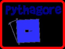 Calculer l'aire d'un carré avec le théorème de Pythagore (2)