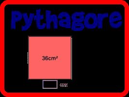 Retrouver la longueur du côté d'un carré connaissant son aire et inversement