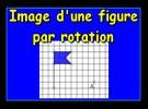 Construire l'image d'un drapeau par une rotation