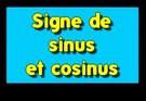 Signe du sinus et cosinus