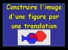 Construire l'image d'un poisson par une translation