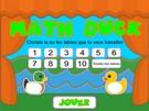 Math duck