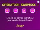 Opérations surprises