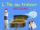 L'île au trésor (vecteurs)