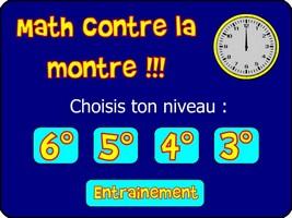 Math contre la montre