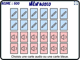 Mém'audio des tables