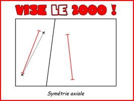 Vise le deux-mille (symétrie axiale)