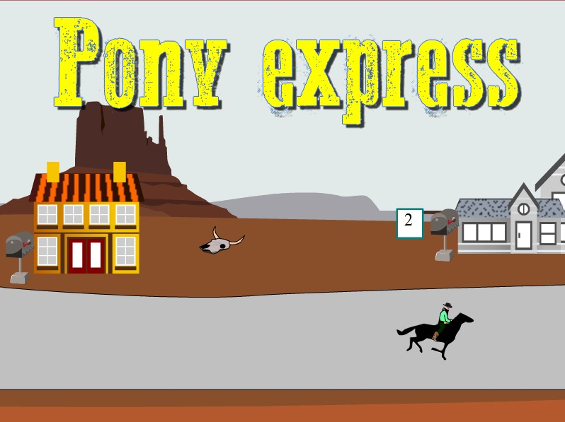 Pony express - Table de multiplication cheval ...